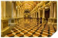 Pure Opulence - Venetian Casino, Print