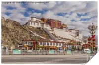 Potala Palace in Lhasa, Print