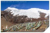 Karola Glacier in Tibet, Print