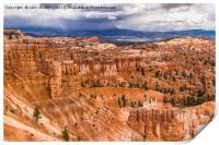 Bryce Canyon Hoodoos - USA, Print