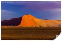 Sossusvlie Sand Dunes, Namib Desert, Print
