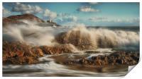 Crashing waves, Print