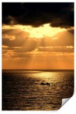 Sunrise in Gran Canaria, Canary Islands, Print