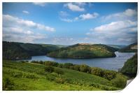 Heavenly Reservoir, Print