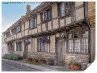 Cerne Abbas Cottages, Print