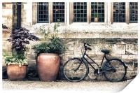 Bicycle and Pots, Print
