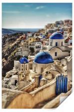 Oia, Santorini, Greece, Print