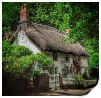 Dorset Cottage, Print