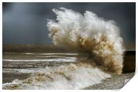 storm,brian,wales 2, Print