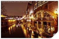 Brindleyplace At Night, Print