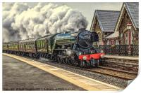 Flying Scotsman at Dent Station, Print
