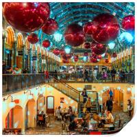 Christmas at Covent Garden, Print
