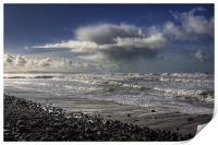 Great Waves at Sandymouth Cornwall, Print