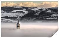 Montorsello fog, Print