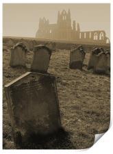 Inspiration for Dracula, Print