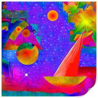 Voyage to the Stars, Print