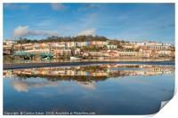 Bristol Harbourside Reflected, Print