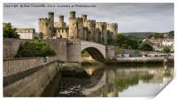 Conwy castle, Print