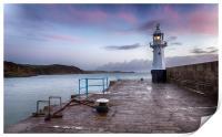 Lighthouse at Sunrise, Print