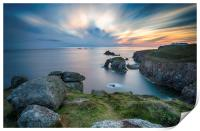 Lands End in Cornwall, Print