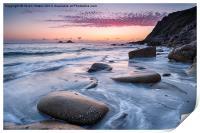 Porth Nanven Beach, Print