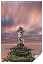 Deserted Lighthouse, Print
