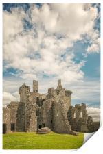 Kilchurn Castle Courtyard, Print