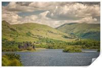 Kilchurn Castle Loch Awe, Print