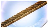 Titan Crane Cable, Print