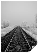 Journey into Winter, Print
