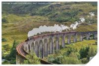 The Jacobite Steam Train., Print