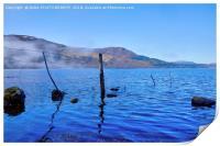 Loch Rannoch, Perthshire, Scotland, Print