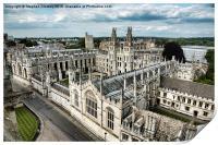 All Souls College - Oxford University, Print