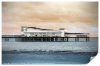 Weston Pier, Print