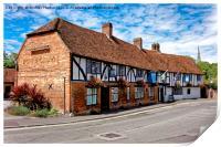 The Rose & Crown Hotel, Salisbury, Wiltshire, Print