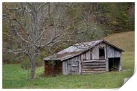 Tennessee Old Barn, Print