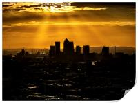 Canary Wharf and Docklands, Print