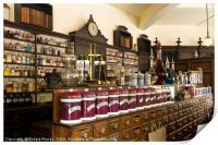 The Pharmacy Shelves, Print