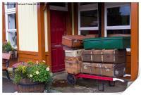 Railway Luggage, Print