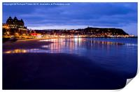South Bay, Scarborough North Yorkshire, Print