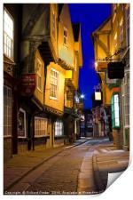 The Shambles, York, Print