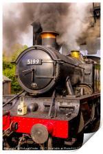 GWR Steam Engine 5199, Print
