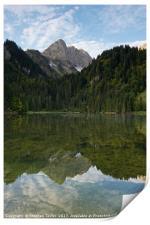 Lac des Plagnes, Print