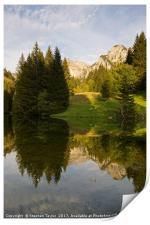 Lac de Fontaine, Print