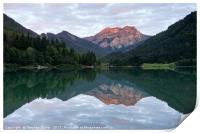 Lac De Vallon, Print