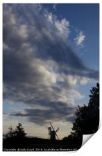 How Hill sky, Print