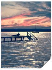 On Lake, Print