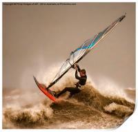 Windsurfing the Storm