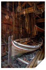 The Old Boatshed, Print