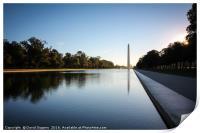 Morning at the Washington , Print